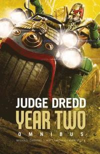bokomslag Judge Dredd Year Two