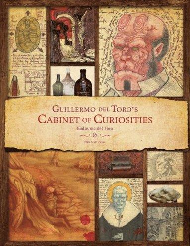 bokomslag Guillermo Del Toro - Cabinet of Curiosities