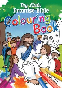 bokomslag My Little Promise Bible Colouring Book