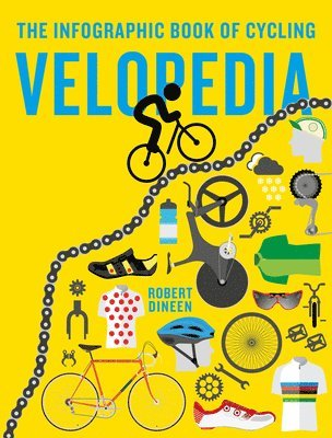 bokomslag Velopedia - the infographic book of cycling