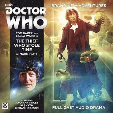 bokomslag Fourth doctor adventures - the thief who stole time