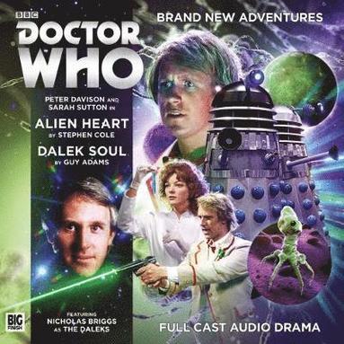 bokomslag Doctor who main range: 224 alien heart & dalek soul