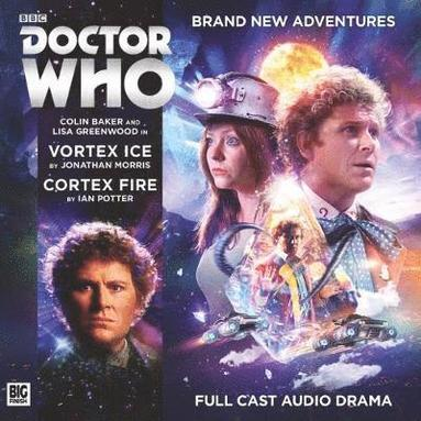 bokomslag Doctor who main range - vortex ice / cortex fire