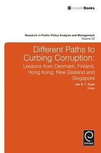 bokomslag Different Paths to Curbing Corruption