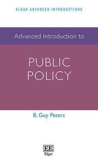 bokomslag Advanced Introduction to Public Policy