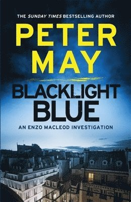 bokomslag Blacklight blue - enzo macleod 3