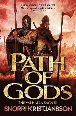 bokomslag Path of gods - the valhalla saga book iii
