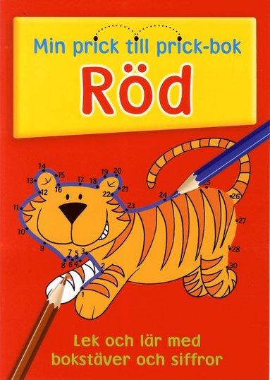 bokomslag Min prick till prick bok Röd