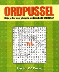 bokomslag Ordpussel 2 : hitta orden som gömmer sig bland alla bokstäver!
