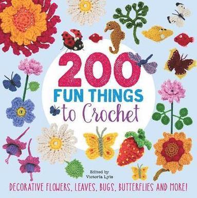 bokomslag 200 Fun Things to Crochet