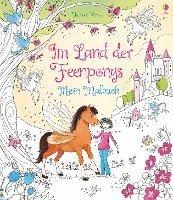 bokomslag Im Land der Feenponys: Mein Malbuch