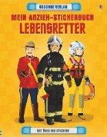 bokomslag Mein Anzieh-Stickerbuch: Lebensretter