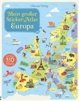 bokomslag Mein großer Sticker-Atlas: Europa