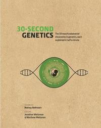 bokomslag 30-second genetics - the 50 most revolutionary discoveries in genetics, eac