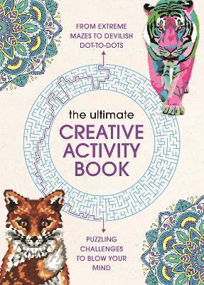 bokomslag Ultimate creative activity book - extreme puzzle challenges to complete