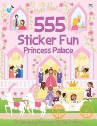 bokomslag 555 Sticker Fun Princess Palace