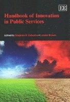 bokomslag Handbook of Innovation in Public Services