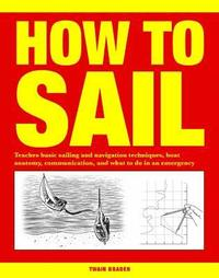 bokomslag How to sail - teaches basic sailing and navigation techniques, boat anatomy