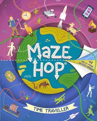 bokomslag Maze Hop: Time Travel