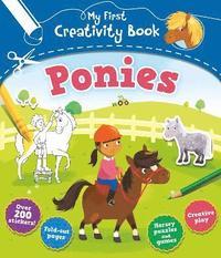 bokomslag My First Creativity Book: Ponies