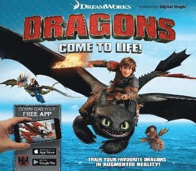 bokomslag Dreamworks Dragons Come to Life!
