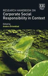 bokomslag Research Handbook on Corporate Social Responsibility in Context