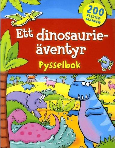 bokomslag Ett dinosaurieäventyr : pysselbok