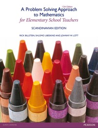 bokomslag A Problem-Solving Approach to Mathematics for Elementary School Teachers (Scandinavian Edition)