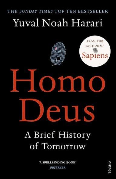 bokomslag Homo Deus: A Brief History of Tomorrow
