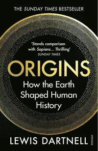 bokomslag Origins: How the Earth Shaped Human History