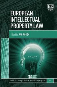 bokomslag European Intellectual Property Law