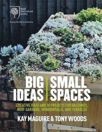 bokomslag RHS Big Ideas, Small Spaces: Creative Ideas and 30 Projects for Balconies, Roof Gardens, Windowsills and Terraces