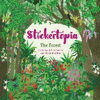 bokomslag Stickertopia the forest - create beautiful artworks, one sticker at a time