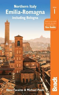 bokomslag Northern Italy - Emilia-Romagna including Bologna.
