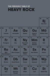 bokomslag The Periodic Table of HEAVY ROCK