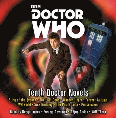 bokomslag Doctor who: tenth doctor novels - eight adventures for the 10th doctor