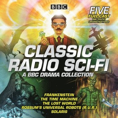 bokomslag Classic radio sci-fi: bbc drama collection - five bbc radio full-cast drama