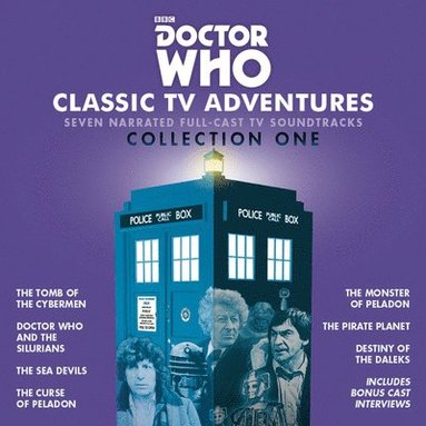 bokomslag Doctor who - classic tv adventures collection one: seven full-cast bbc tv s