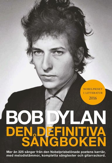 bokomslag Dylan Bob Definitive Songbook Swedish Translation