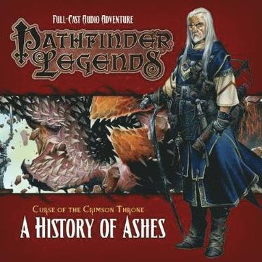 bokomslag Pathfinder legends: the crimson throne - a history of ashes