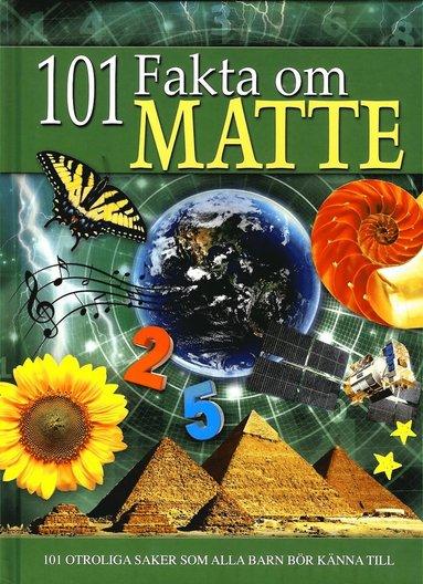 bokomslag 101 fakta om matte