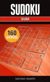 bokomslag Sudoku Svår Svart