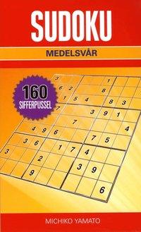 bokomslag Sudoku Medelsvår Röd