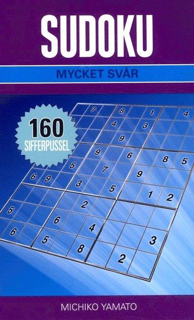 bokomslag Sudoku Mycket svår Lila