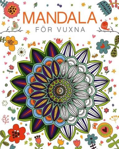 bokomslag Mandala för vuxna