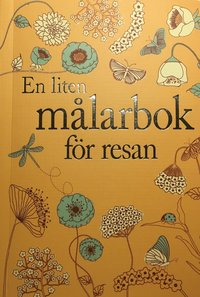 bokomslag En liten målarbok för resan