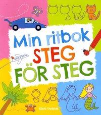 bokomslag Min ritbok : steg för steg