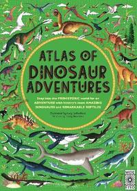 bokomslag Atlas of Dinosaur Adventures