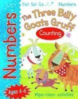 bokomslag Get set go numbers: the three billy goats gruff - counting