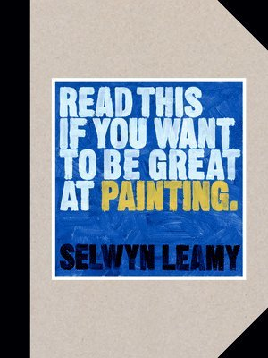 bokomslag Read This if You Want to Be Great at Painting